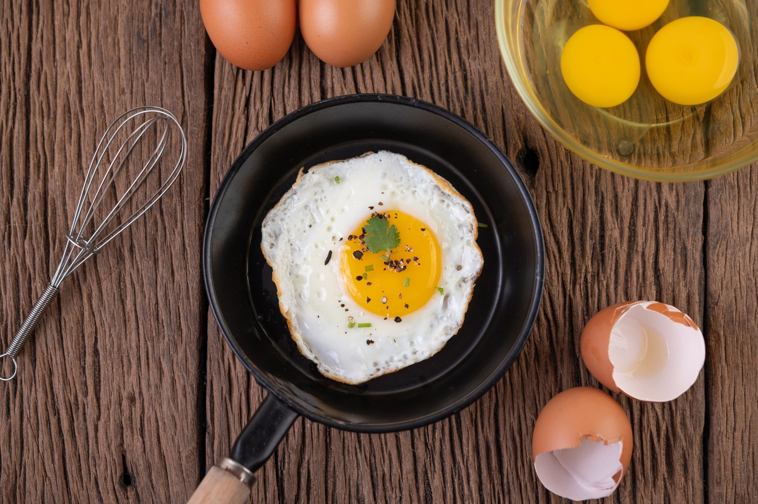 Eggs as they are rich in protein and can help hair growth and repair.