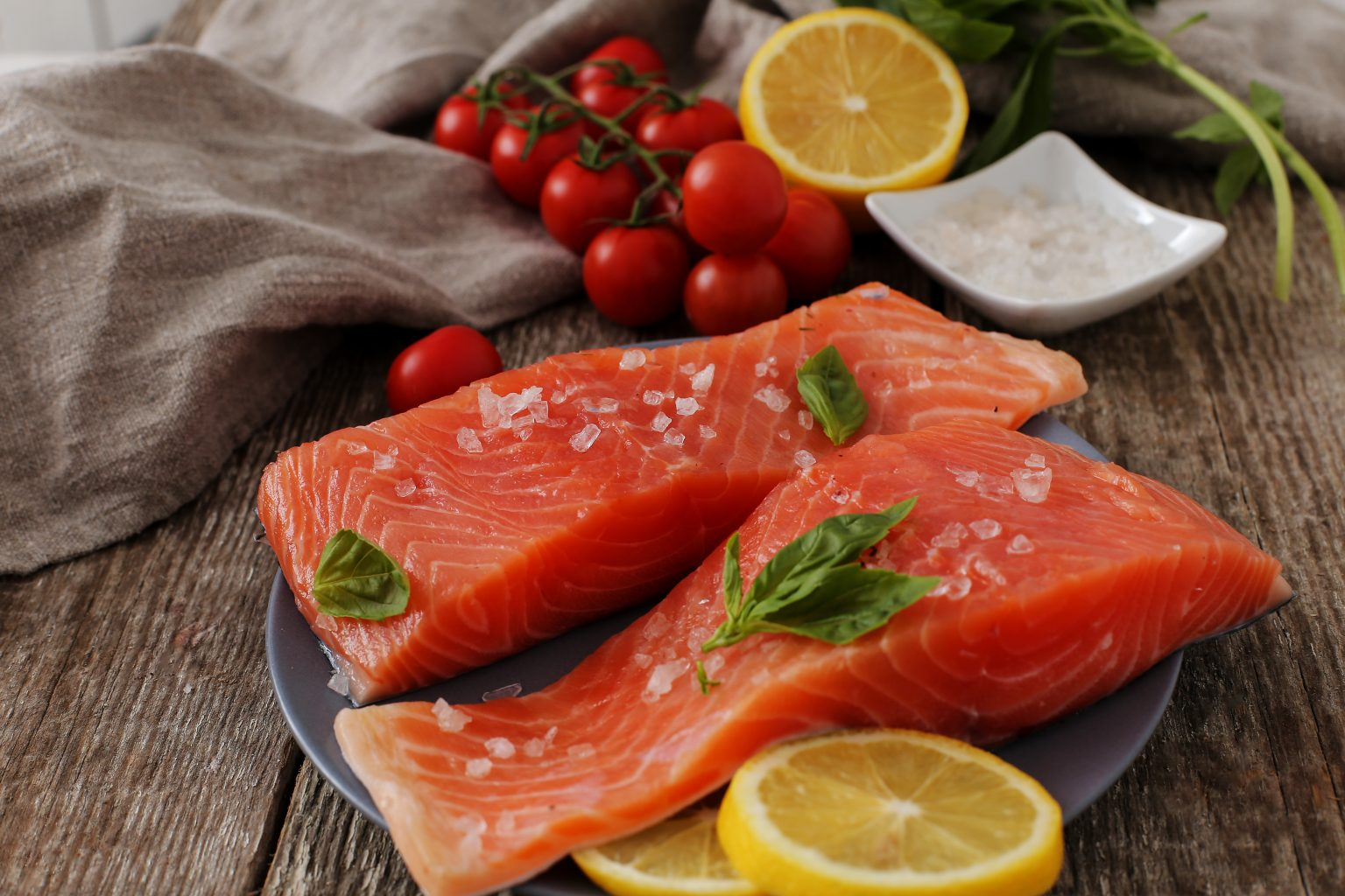 Fish like salmon to assist in hair growth and protect your hair from thinning.